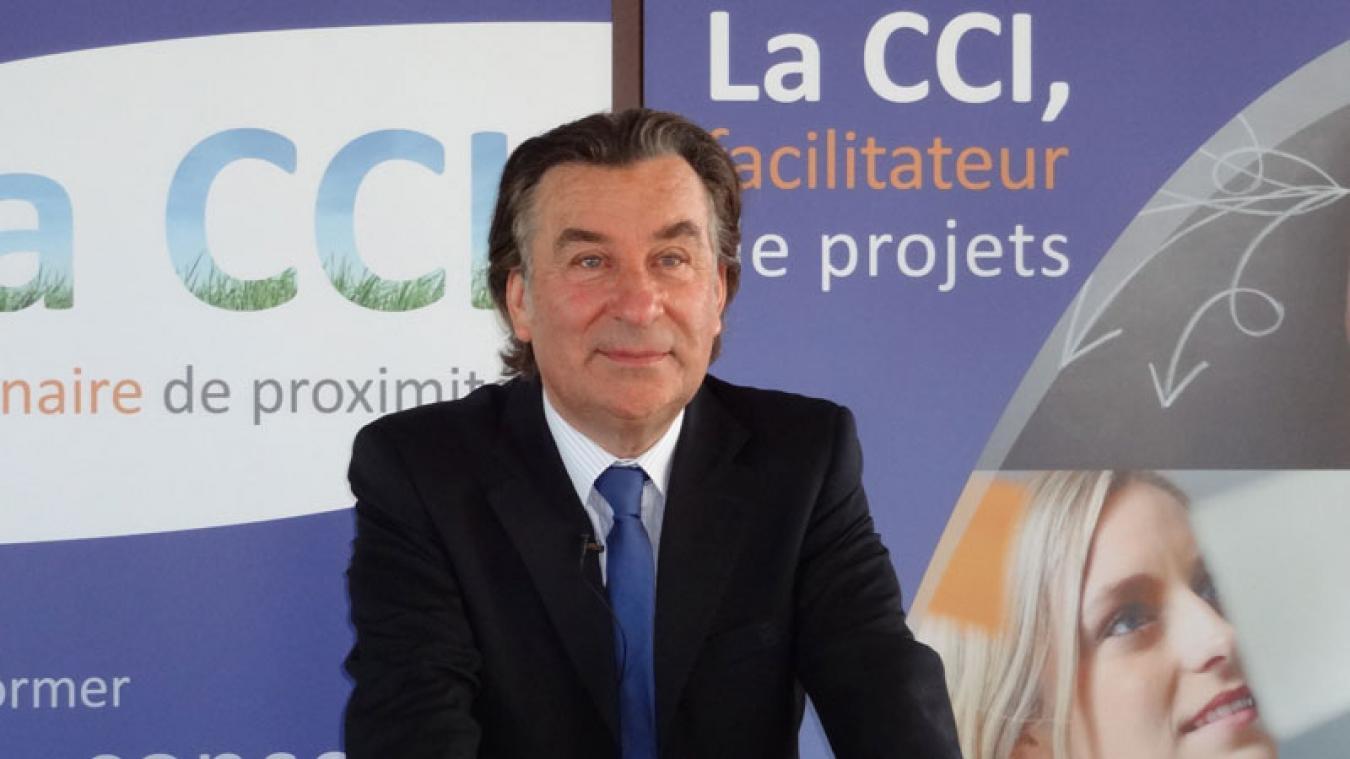Guy Métral, président de la CCI Haute-Savoie