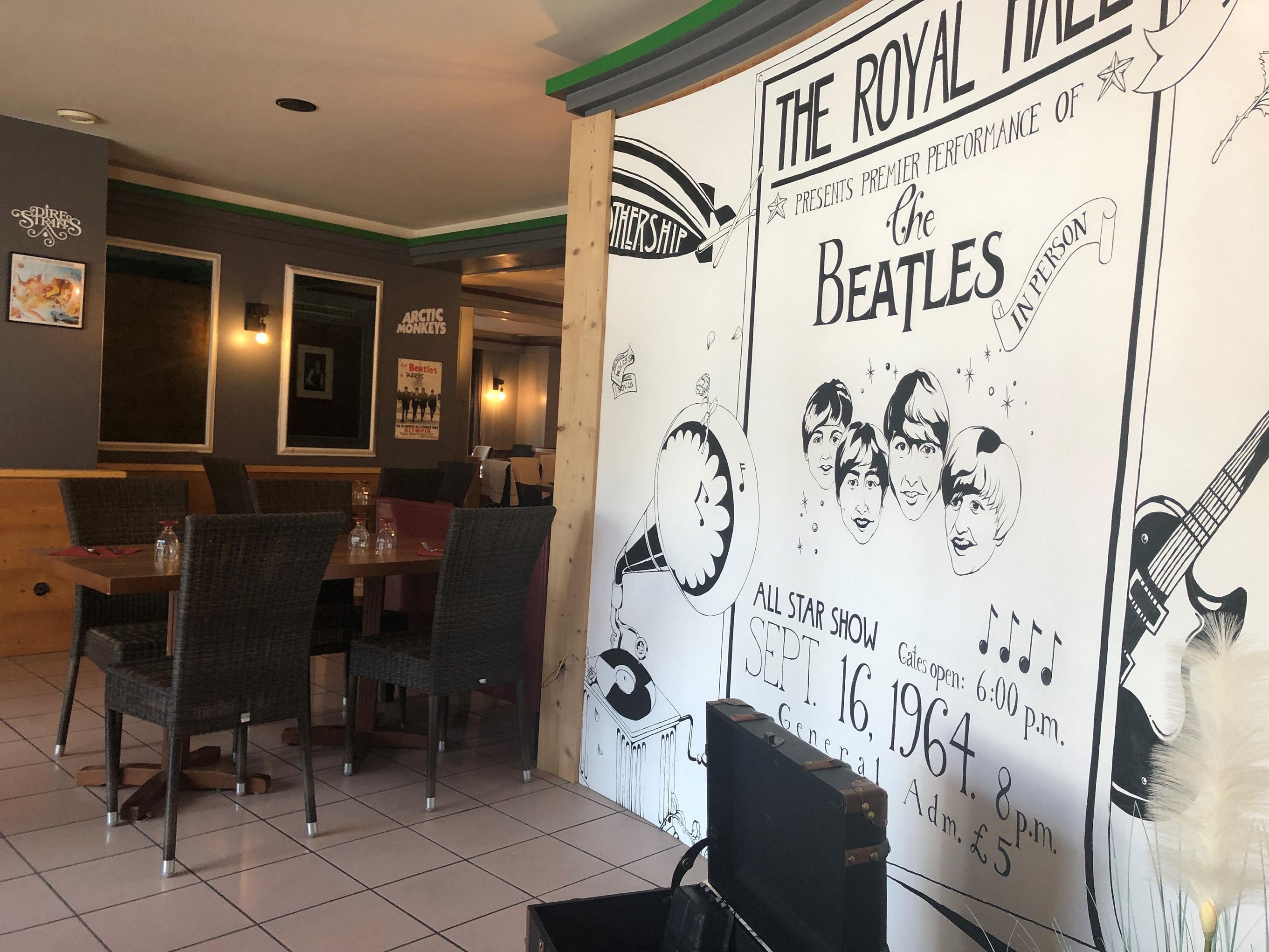 Ambiance musicale au Sweet Rock Café d'Albertville