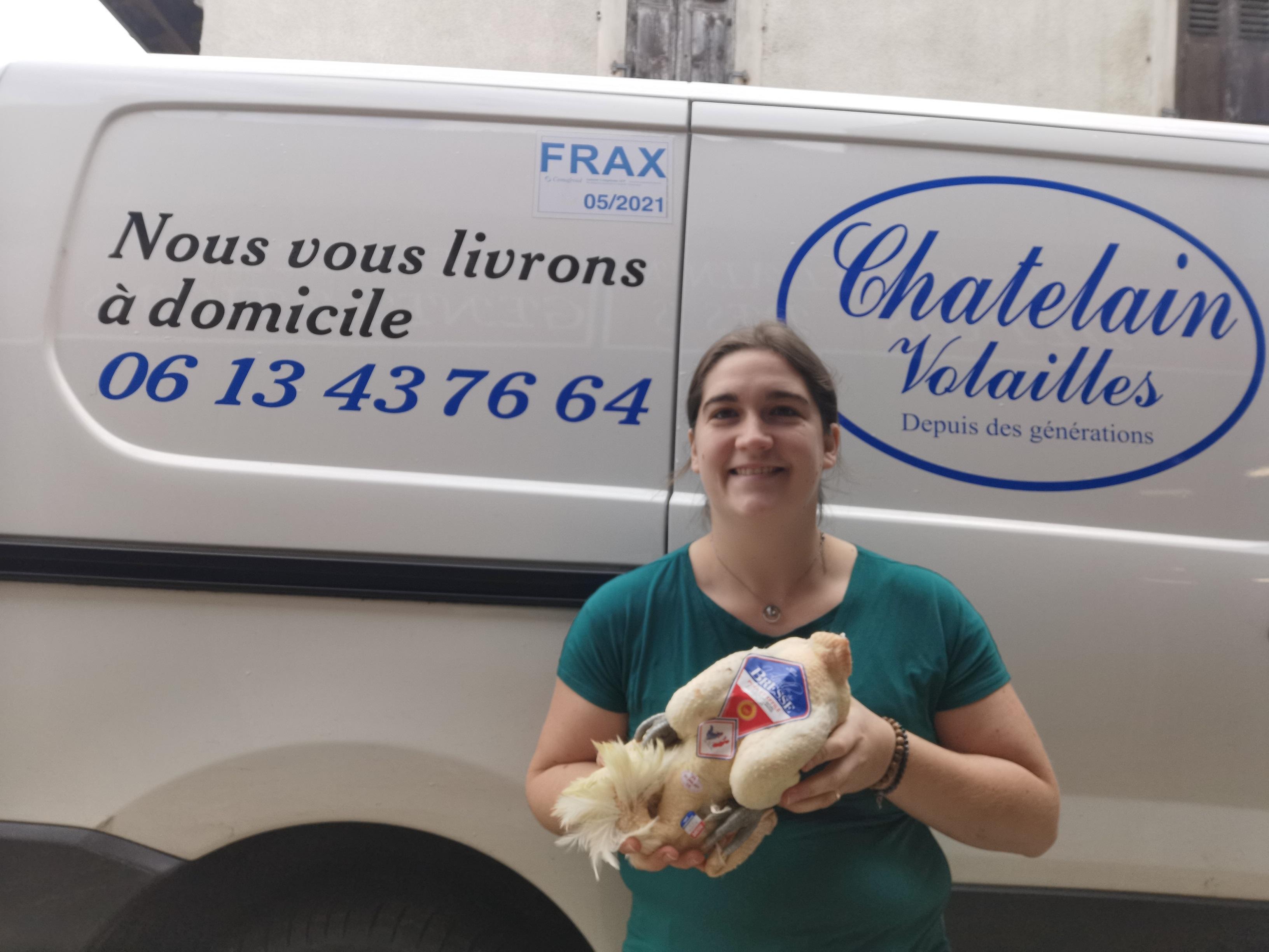 Nouveau service proposé par Chatelain volaille.