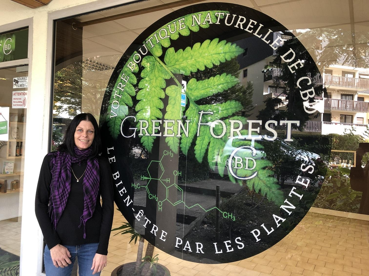 Green Forest, la boutique naturelle de CBD à Albertville