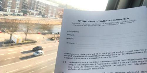 Coronavirus Attestation De Deplacement 5 Questions Essentielles Le Messager