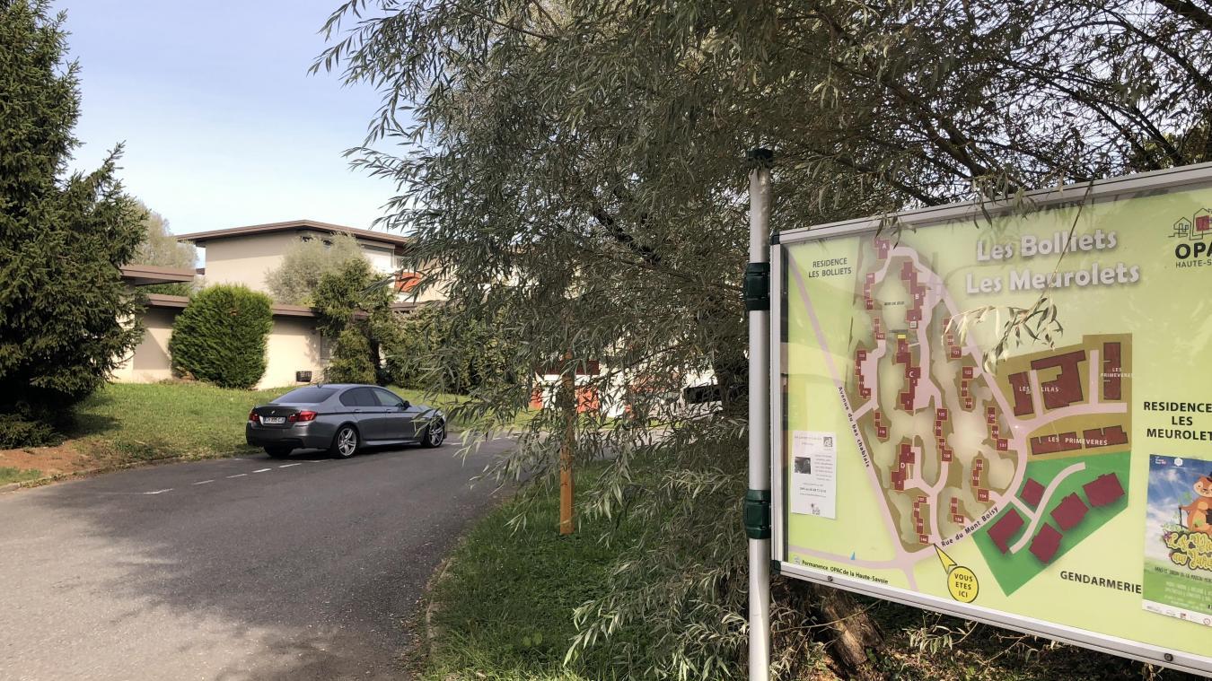 Le quartier des Bolliets est situé entre l'avenue du Bas-Chablais et la gendarmerie.
