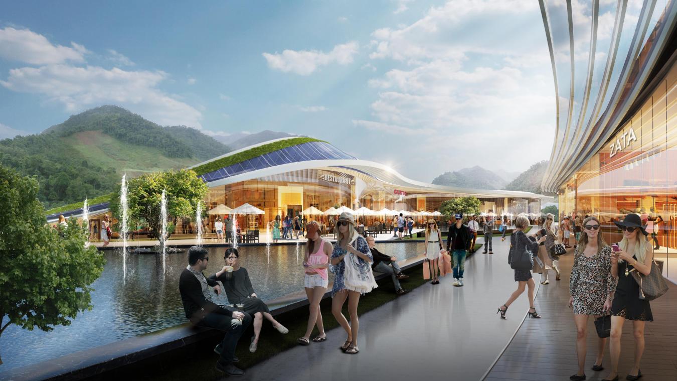 Le projet Open Sky sera situé au 482, avenue des Alpes à Epagny Metz-Tessy, près d'Annecy.
