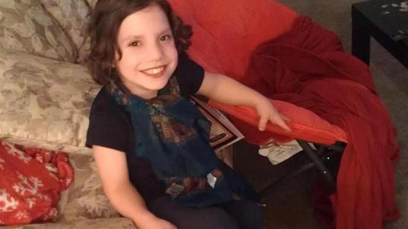 Natalia Grace en septembre 2012. À cette période la jeune fille avait alors neuf ans. Photo repro « La Voix »