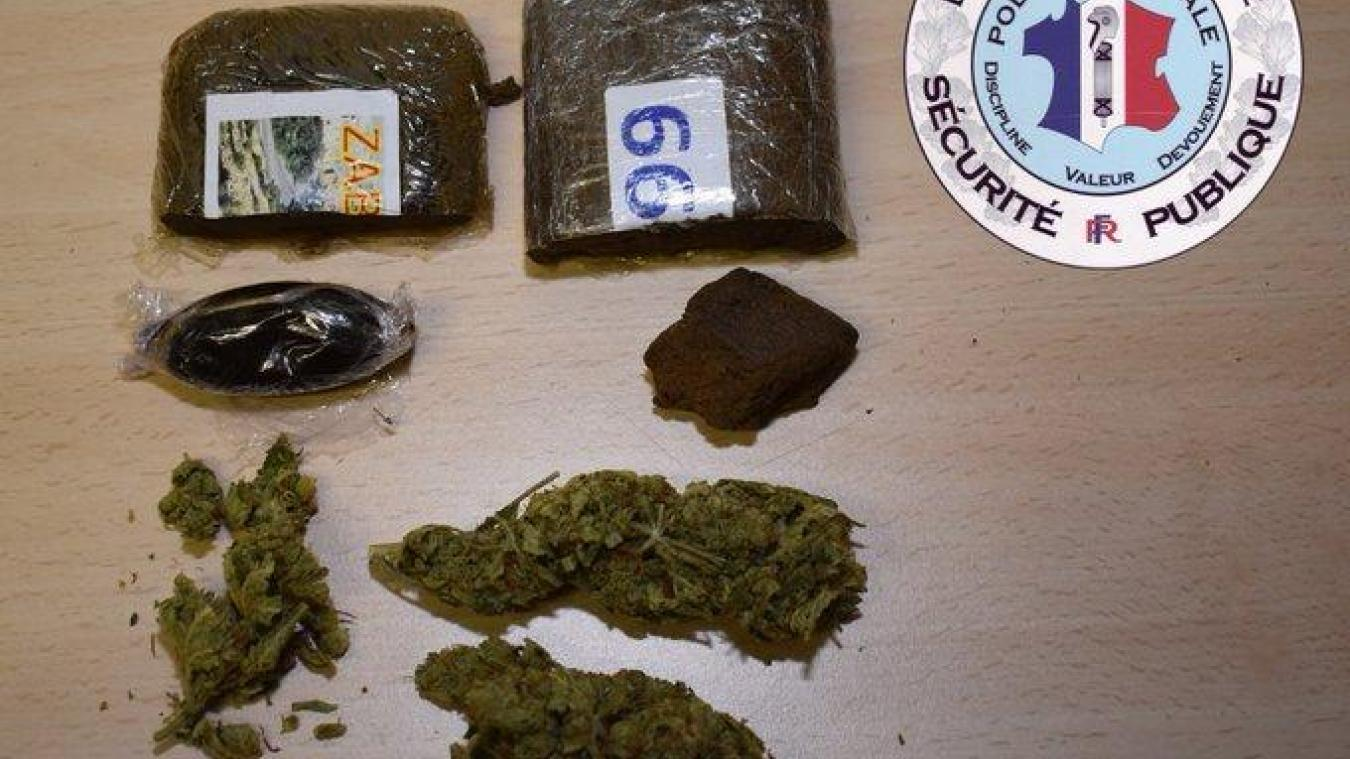 Annemasse: une belle prise de cannabis au Perrier