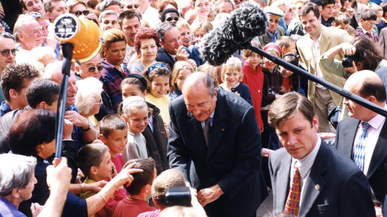 (PHOTOS) Jacques Chirac à Chambéry: Michel Dantin se souvient