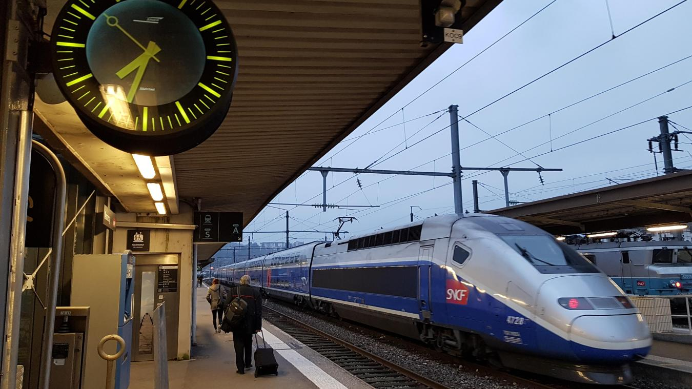 A partir du 15 décembre, le TGV entre Annecyet Paris arrivant à 9h15 dans la capitale n'existera plus. Photo d'illustration.
