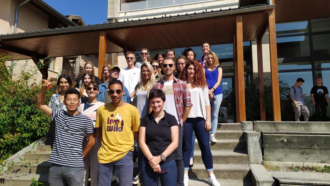 Les 21 élèves de la MFR embarquent pour le Québec le 8 octobre prochain.