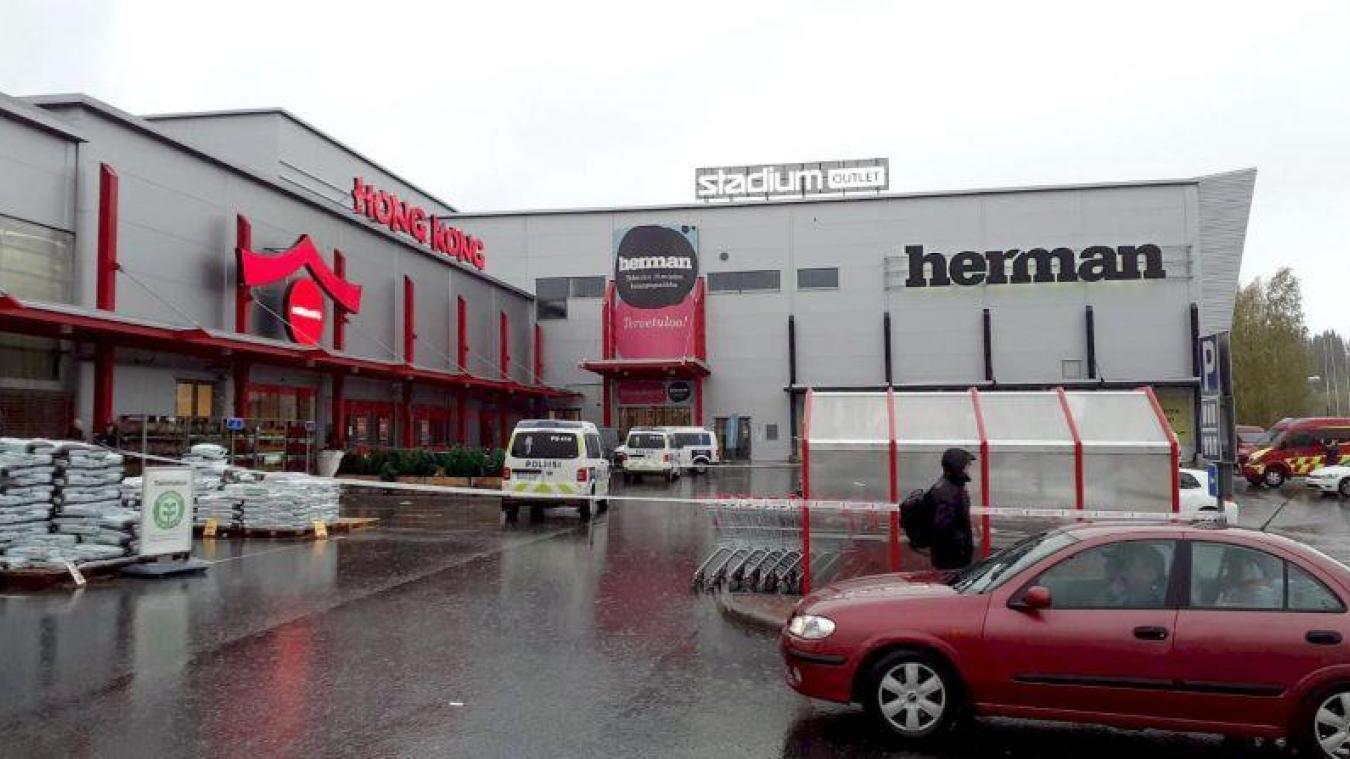 Un homme a attaqué un lycée professionnel à Kuopio en Finlande mardi 1er octobre. Armé d'un sabre, il a fait un mort et dix blessés. © hbl.fi