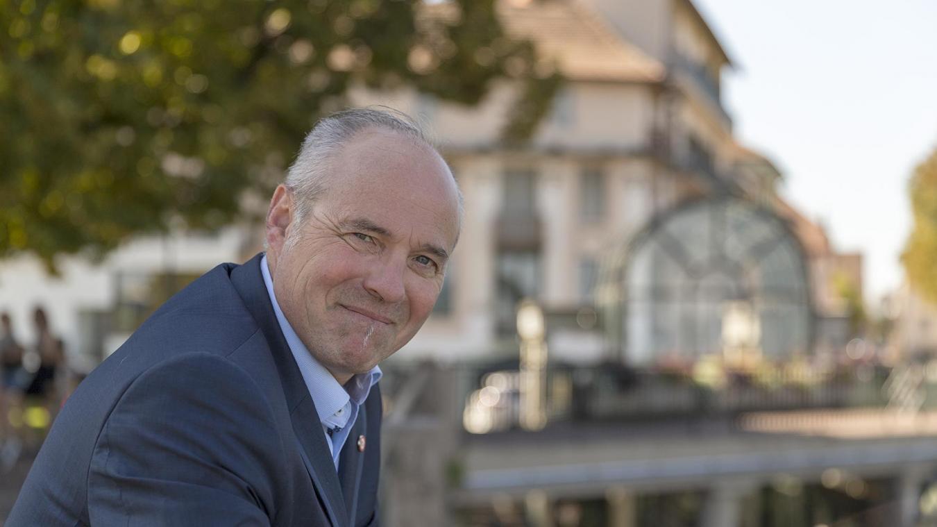 Gilles Joly était déjà candidat en 2014.