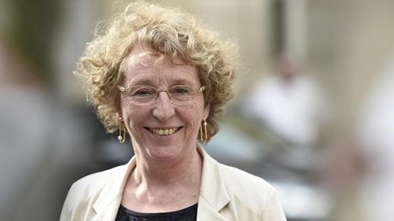 Muriel Pénicaud, ministre du Travail, à Cluses et Marignier, vendredi 4 octobre.