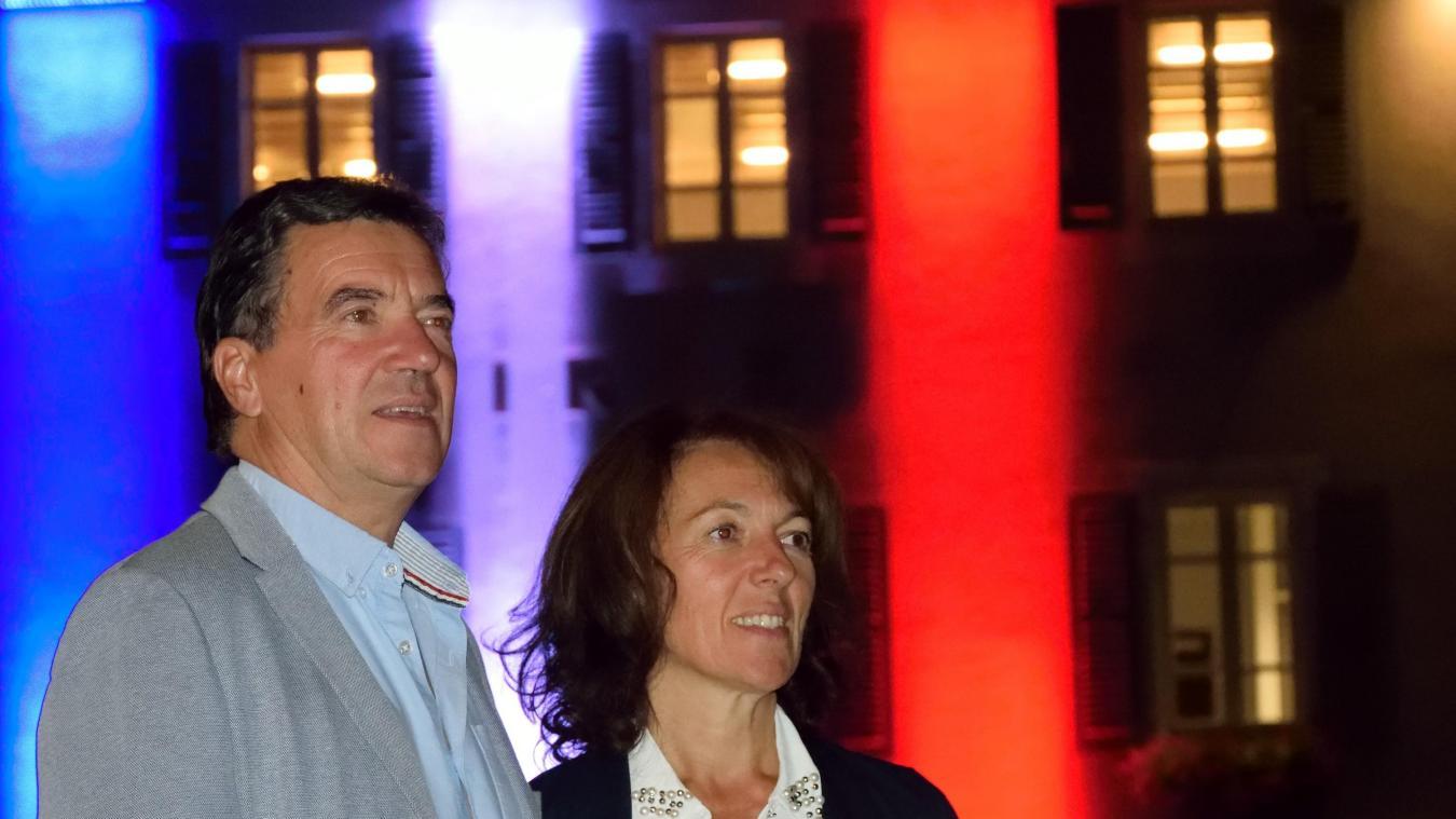 Gaston Lacroix et son épouse Maryse. Le maire de Publier souhaite désormais pouvoir profiter de sa famille.