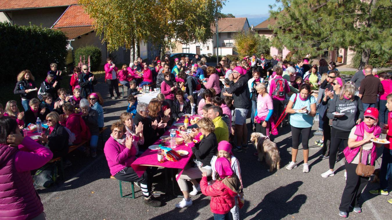 La « marche rose » est organisée pour la troisième fois à Loisin.