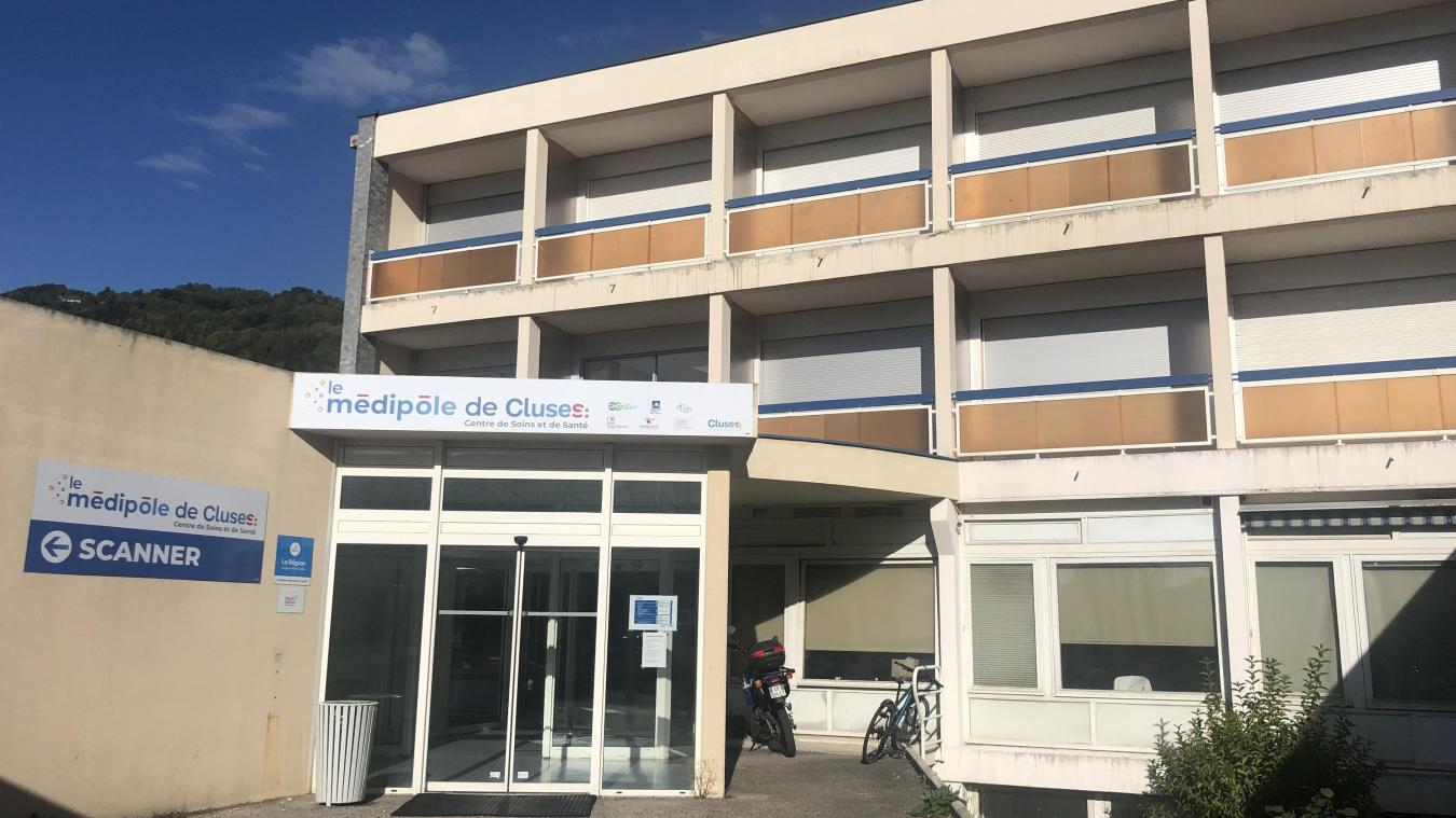 Pour l'instant, le Médipôle se trouve dans une partie rénovée des anciens locaux de la clinique