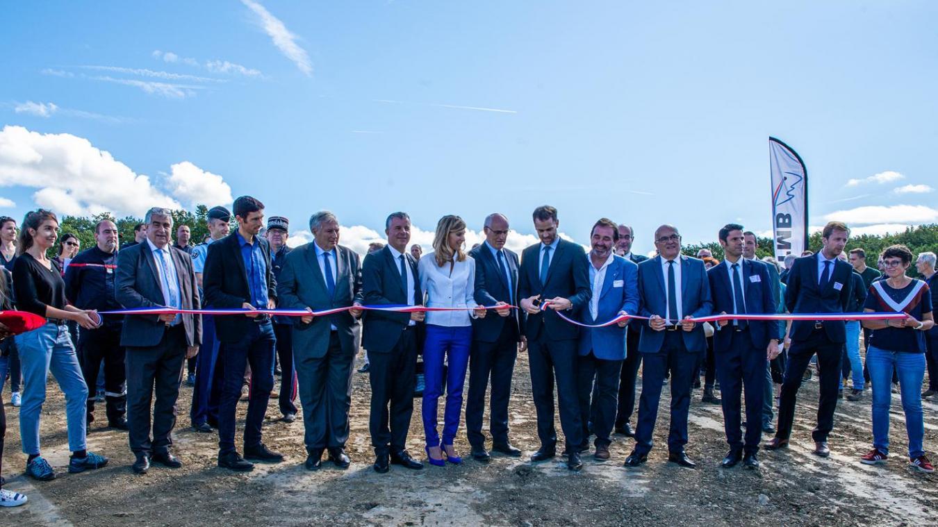 L'écopont de Viry, près de Saint-Julien-en-Genevois, a été inauguré le 30 septembre dernier.