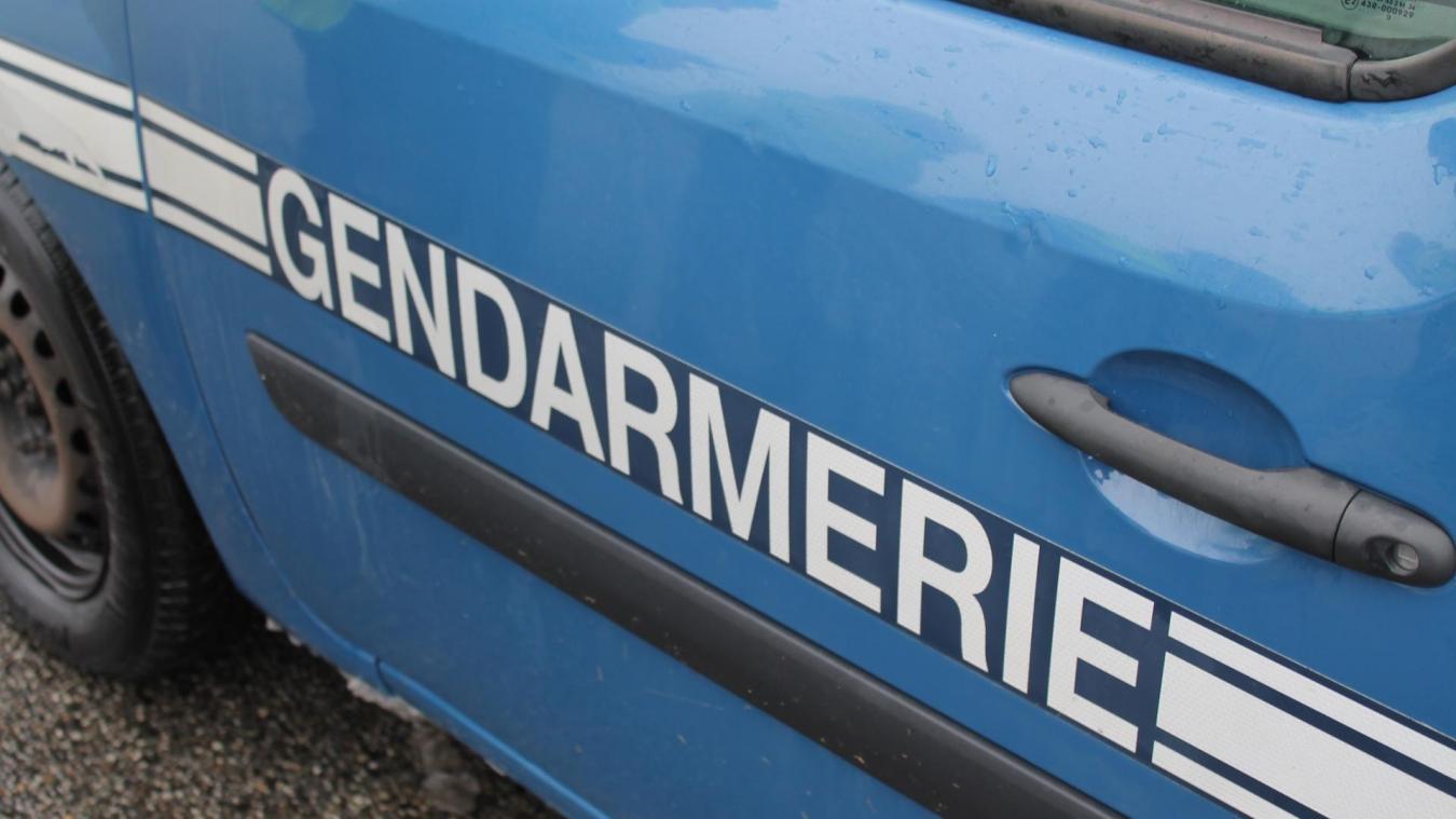 Les gendarmes ont trouvé 680 euros et de l'héroïne sur le point de vente d'Alex, lundi 12 octobre.