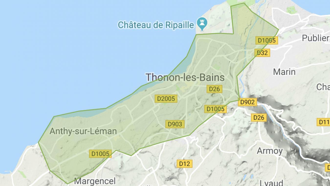 Uber Eats livrera sur Thonon et Anthy et pourrait étendre sa zone de livraison si plusieurs restaurants d'une même commune devenaient partenaires.
