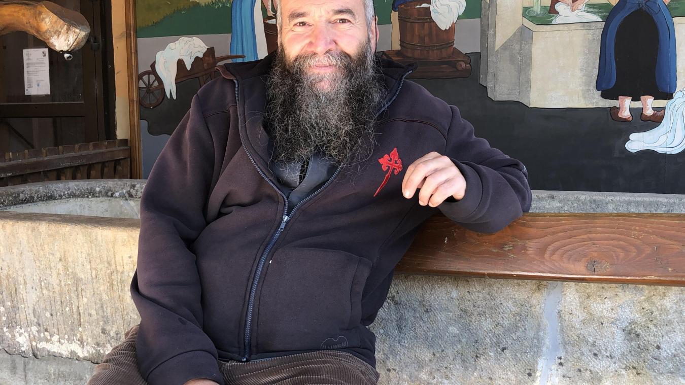 Le Père Luc Ledroit est désormais chargé des ouailles de la vallée.