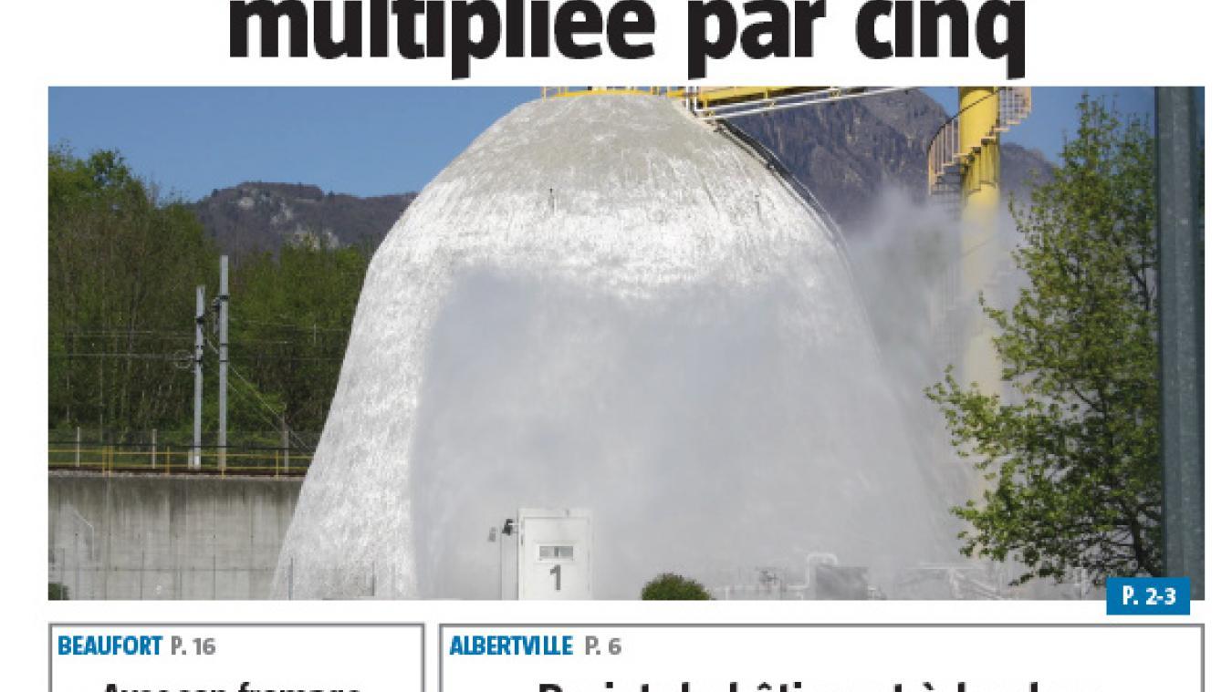 (vidéo) A la une de La Savoie, cette semaine...