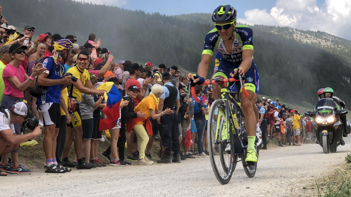 En 2018, les coureurs avaient subi l'épreuve des cailloux sur la route des Glières.