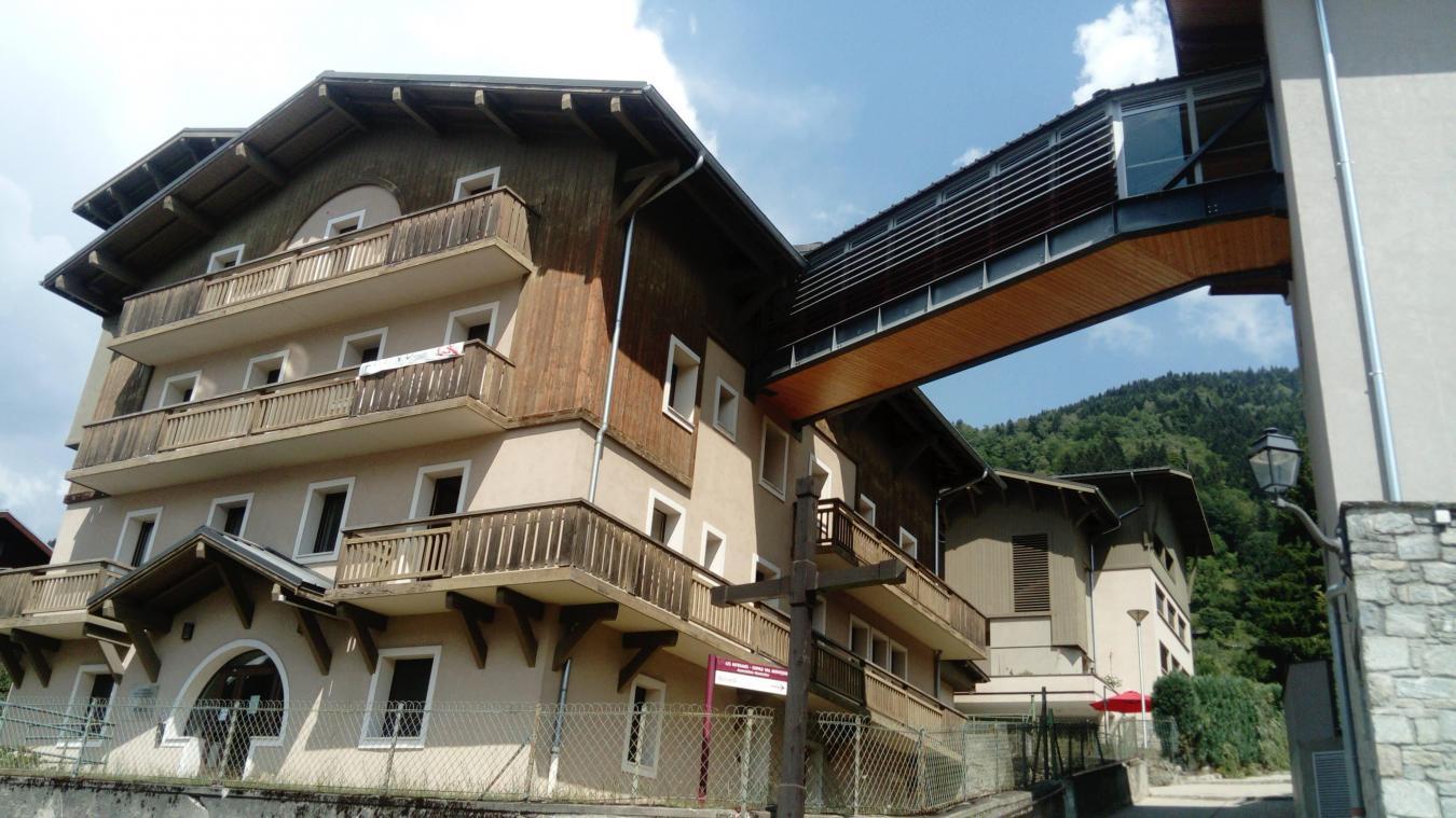 L'EHPAD Val Montjoie de Saint-Gervais.