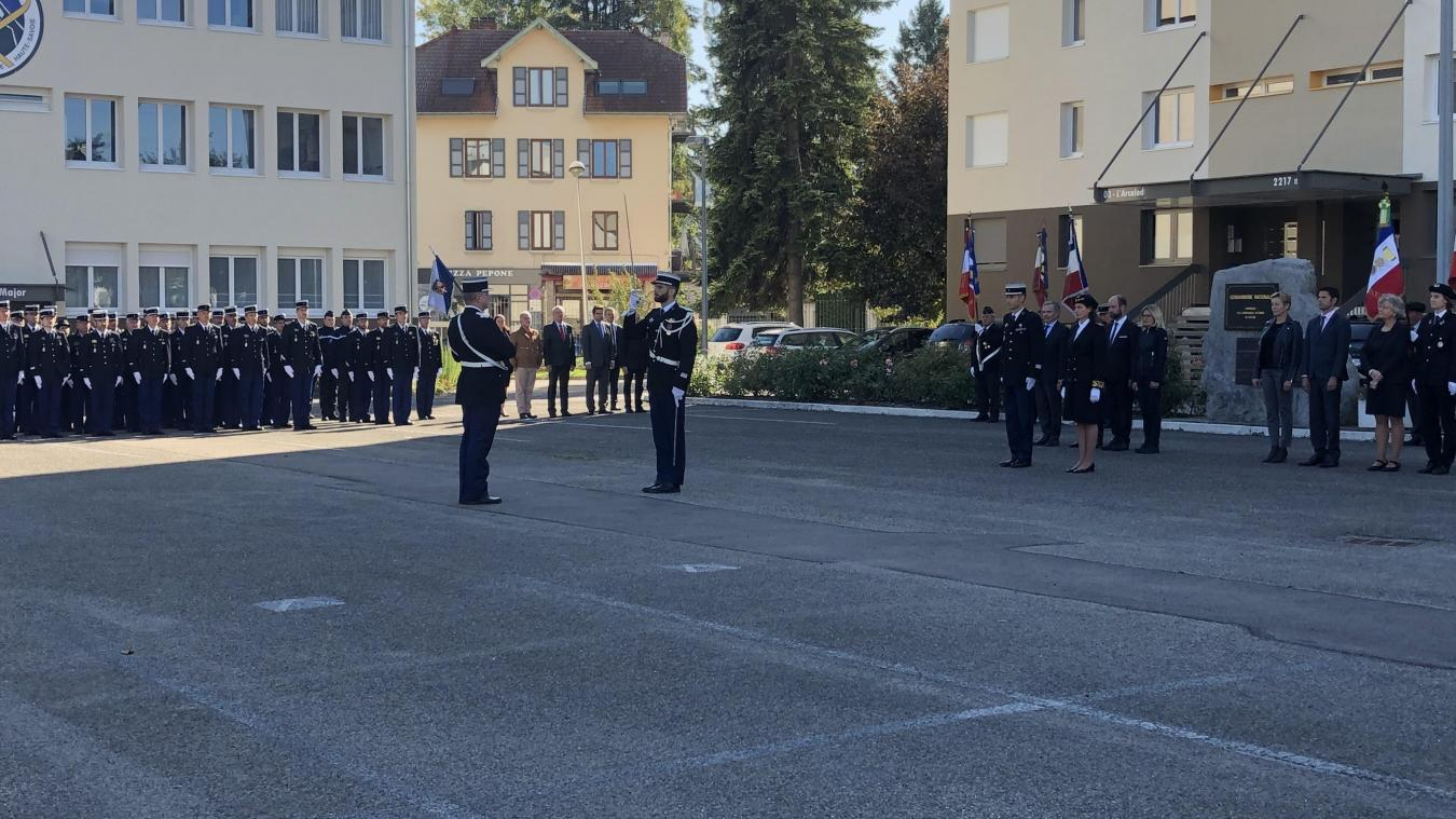 Le commandant Chevallard a pris ses fonctions officiellement ce vendredi 11 octobre.