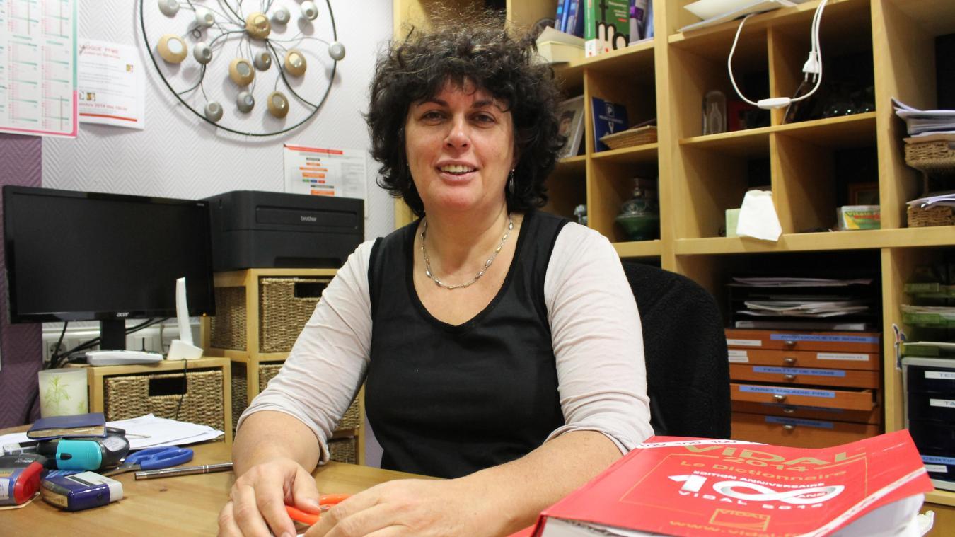 Françoise Guillemot expérimente un mode d'exercice original au sein de son cabinet médical, depuis 4 ans.