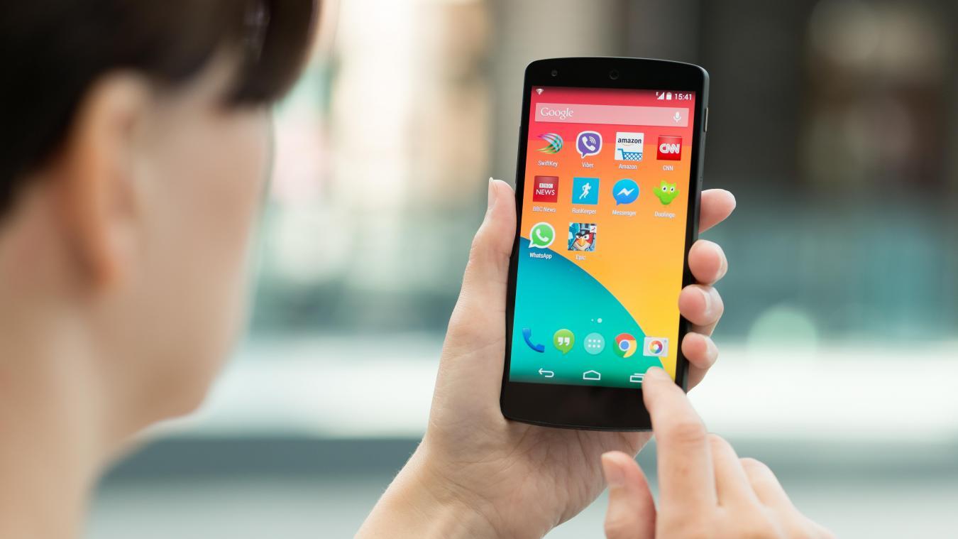L'entreprise Sophos met en garde les utilisateurs de smartphone Android sur l'utilisation d'applications qui ne sont plus disponibles dans le Google Play store mais sont toujours installées sur les téléphones de nombreux utilisateurs. - Photo d'illustration