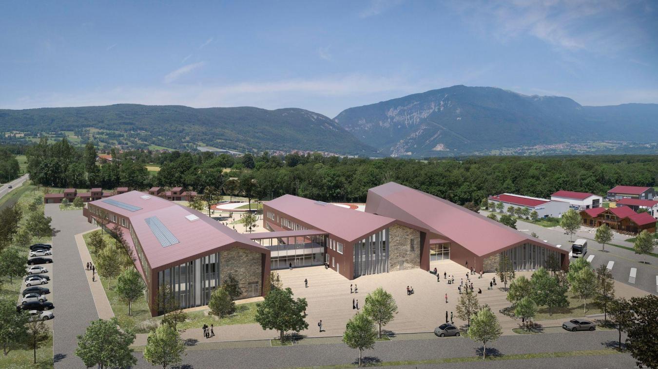 Le futur collège de Vuache sera bâti dans la zone de Chavannoux.