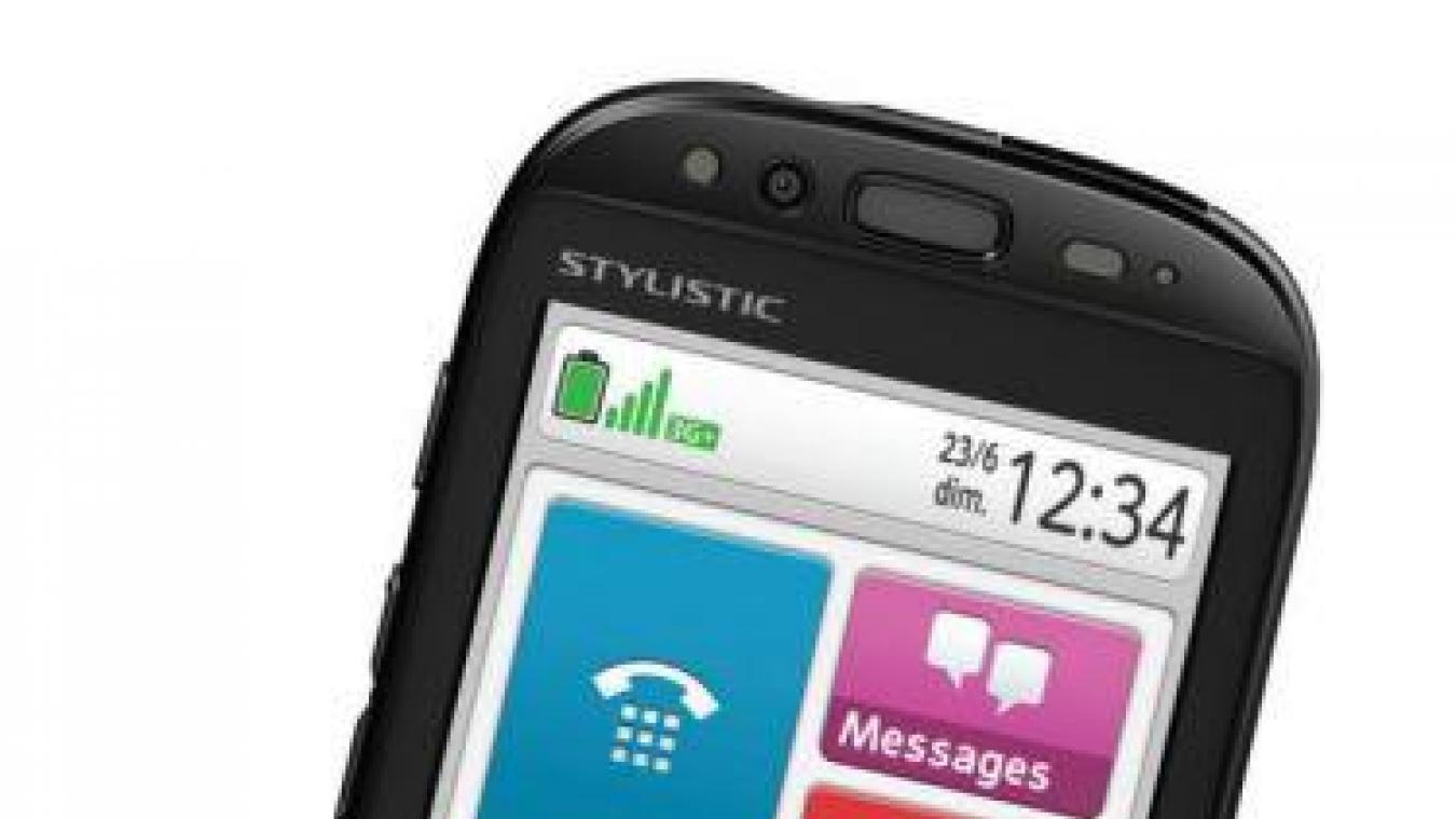 Le téléphone grave danger est doté d'un bouton spécial permettant de déclencher un appel d'urgence.