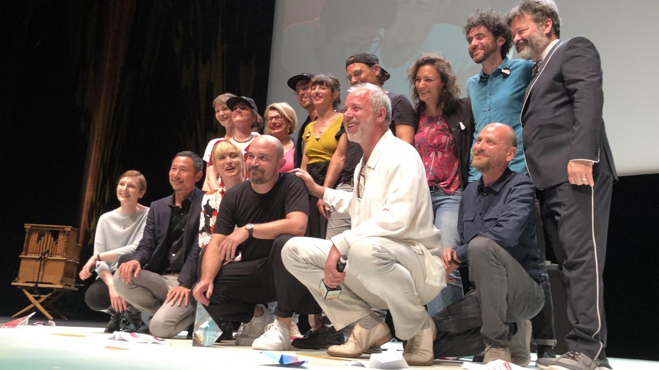 En juin 2019, l'équipe du long-métrage  J'ai perdu mon corps  avait été récompensée par le Cristal du festival international du film d'animation
