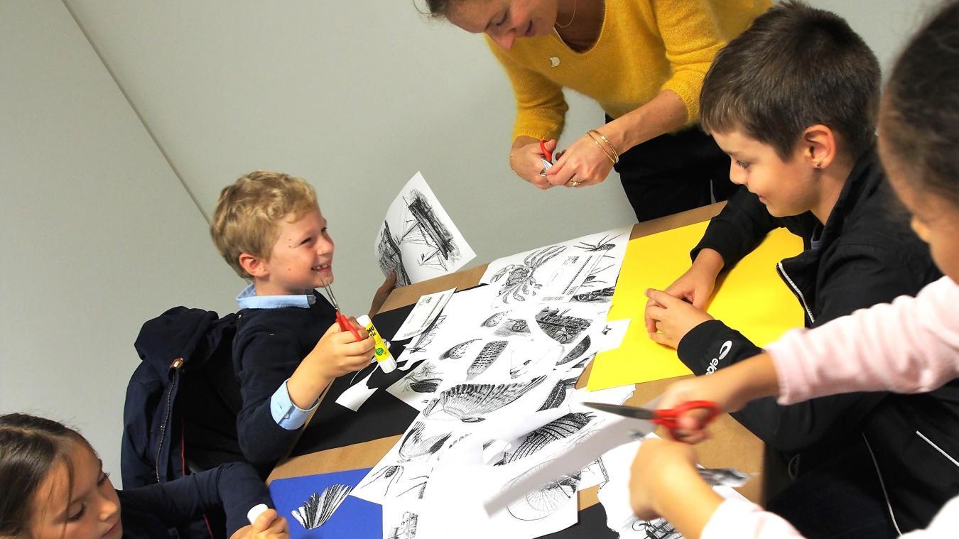 Des espaces lectures, mais aussi des ateliers avec les auteurs et illustrateurs.