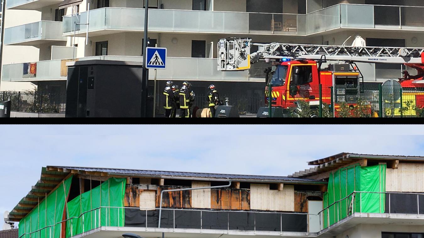Plus d'un an après l'incendie, rien n'avait bougé pour le bâtiment sinistré de la résidence du Royal-Amédée.