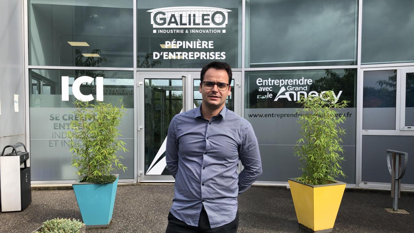 C'est à la pépinière d'entreprises Galiléo, située à Chavanod, que Phimeca s'est installée pour les prochains mois, avant de trouver des locaux propres à la société.