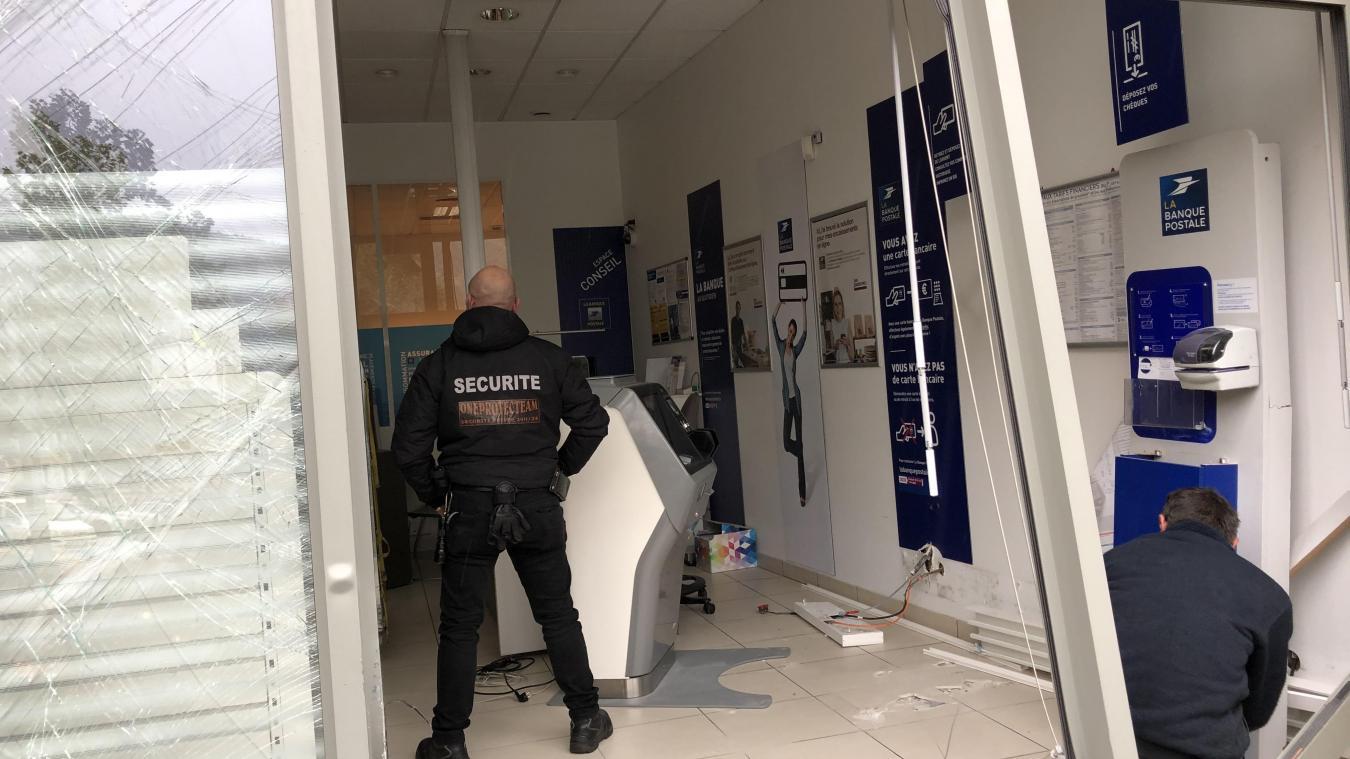 Bonneville: le bureau de poste attaqué