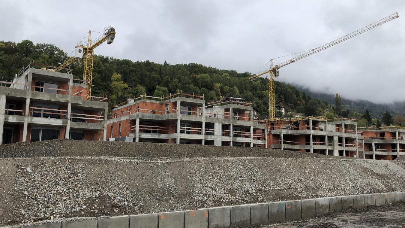 Mardi 22 octobre, l'employé d'un chantier qui se déroule sur Ayze, a fait une chute mortelle.