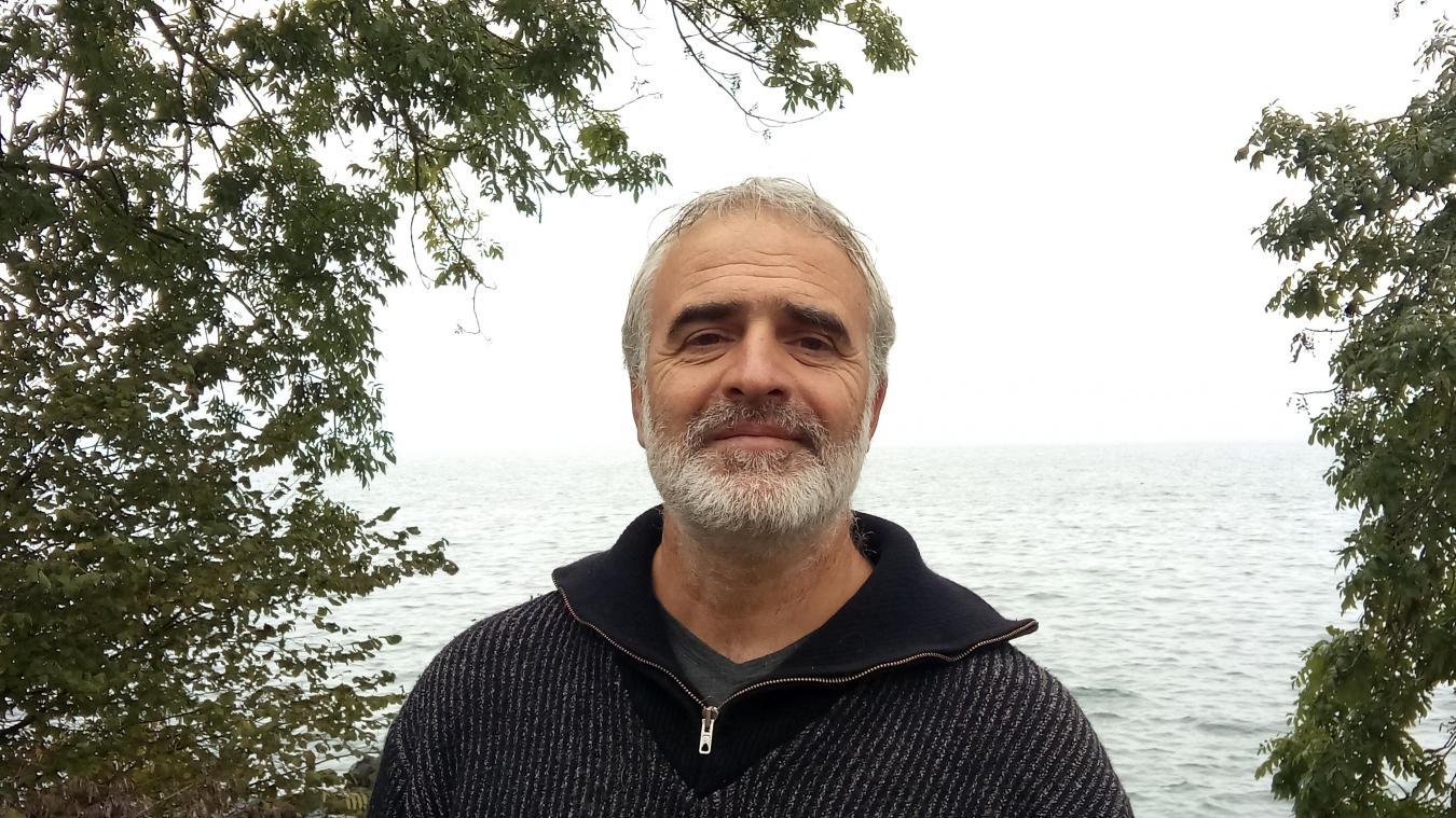 James Berod est pêcheur à Anthy depuis 20 ans.
