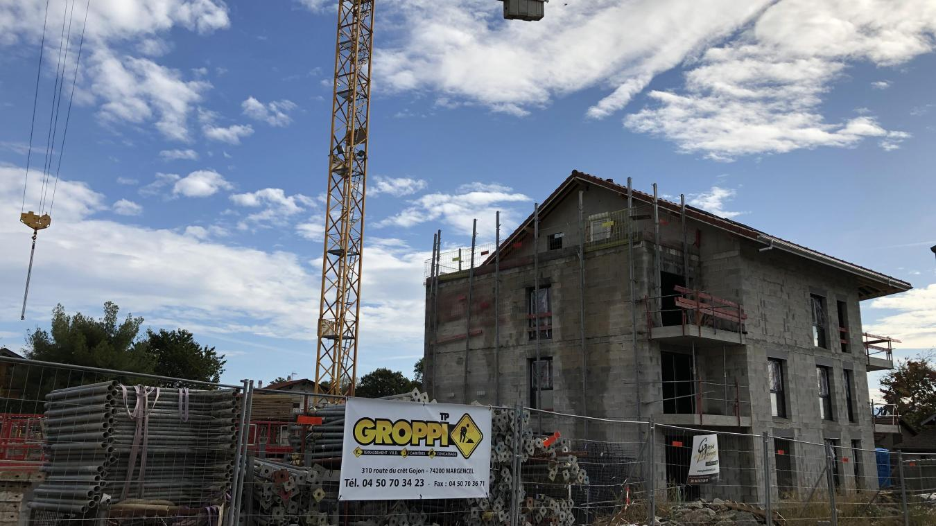 Les programmes neufs continuent de fleurir dans le Pays de Gex, même dans le sud gessien, comme ici à Péron.