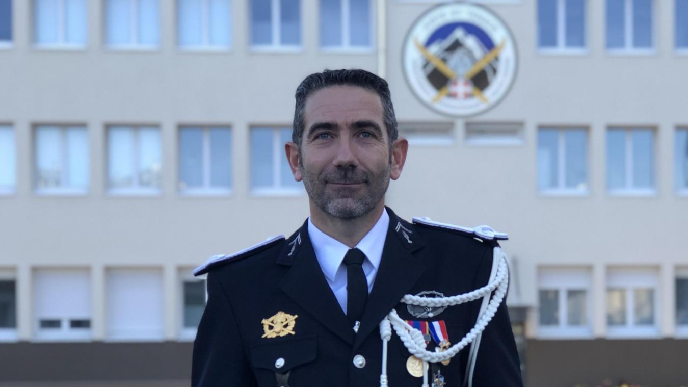 La cérémonie de prise de commandement a eu lieu vendredi 18 octobre 2019 à la caserne Dessaix d'Annecy.