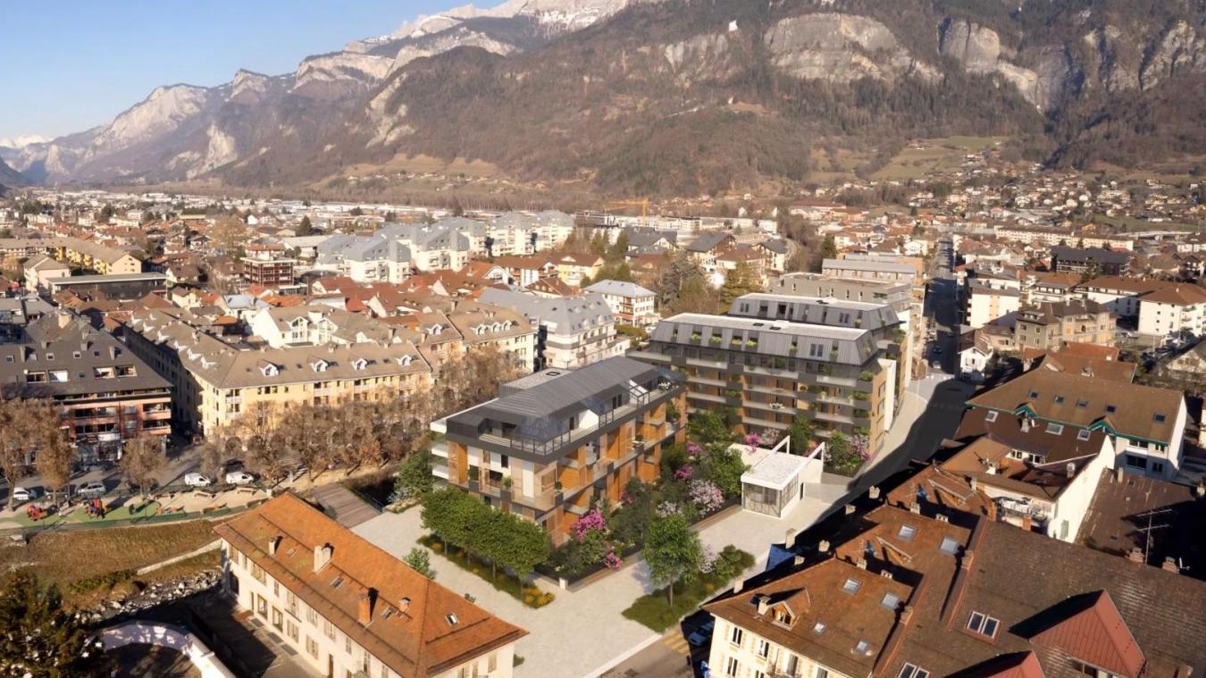 (VIDEO & PHOTOS) Sallanches : la phase deux du projet Quai Mont-Blanc est lancée