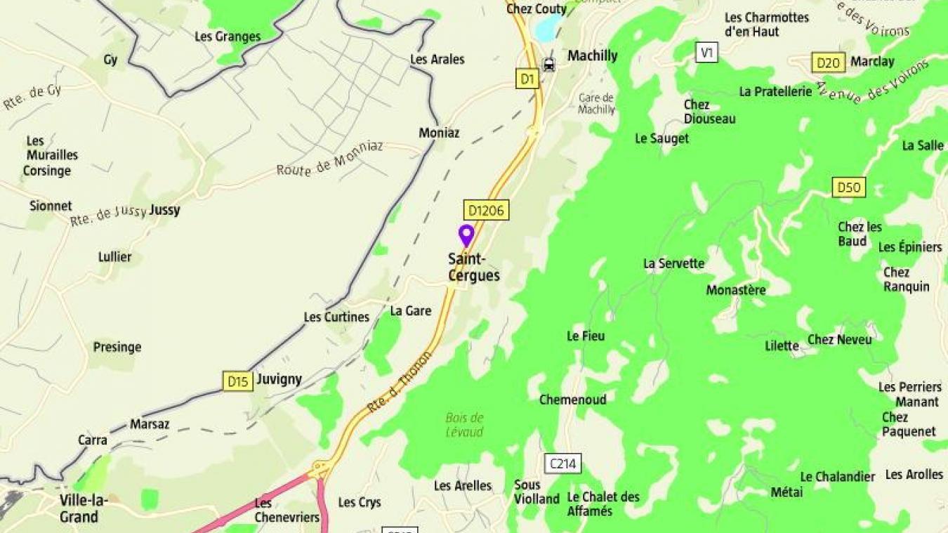 Dans la soirée du 28 octobre, un accident de tracteur a perturbé la circulation sur le Plat de Saint-Cergues