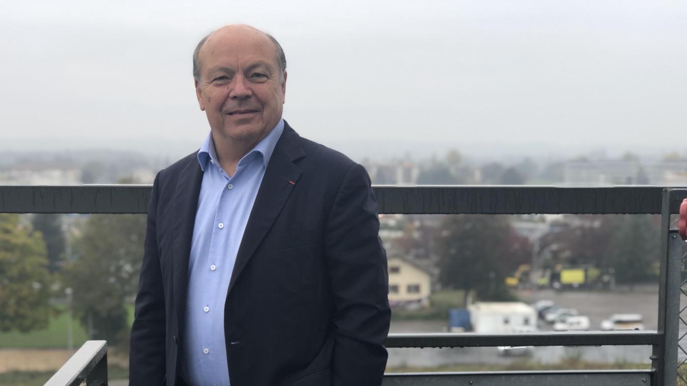 D'ici 2023, Christian Dupessey, président d'Annemasse Agglo, prévoit un total de 2 000 étudiants à Annemasse.
