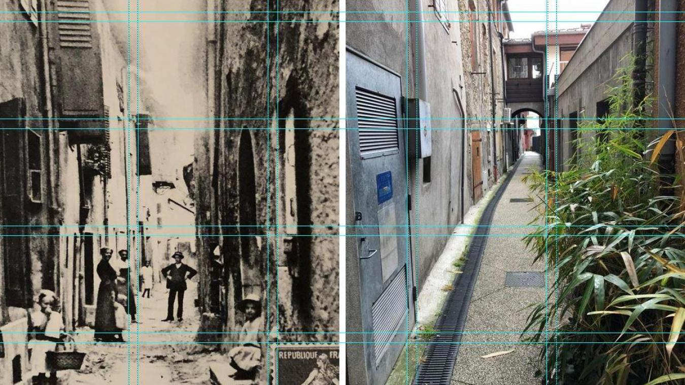 Il y a une cinquantaine d'années la rue Brune était encore appellée par les Bonnevillois la rue Punaise.