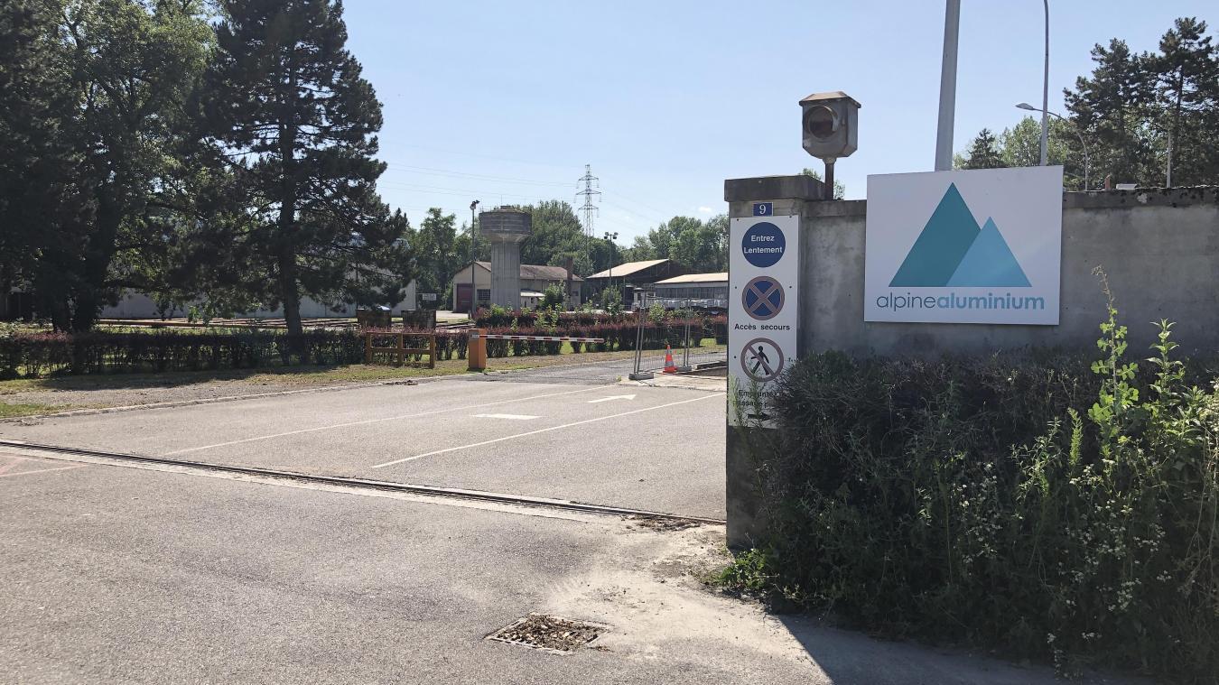 Les locaux de l'entreprise Alpine Aluminium sont situés à Cran-Gevrier, dont le terrain devrait être racheté par le Grand Annecy.