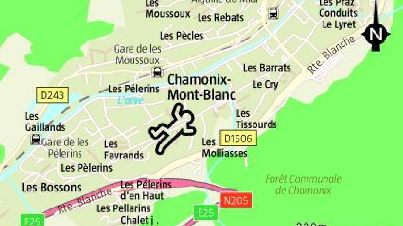 Jeudi 31 octobre, à Chamonix, un ouvrier a fait une lourde chute dans un bâtiment en construction.