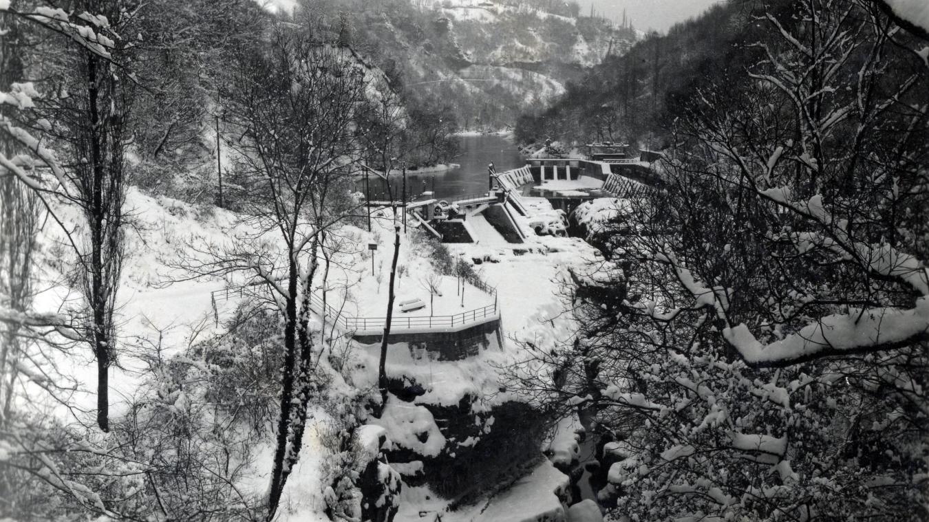 Extrait tiré d'un témoignage de Roger Tardy, à la Noël 1940. Ici la perte du Rhône.