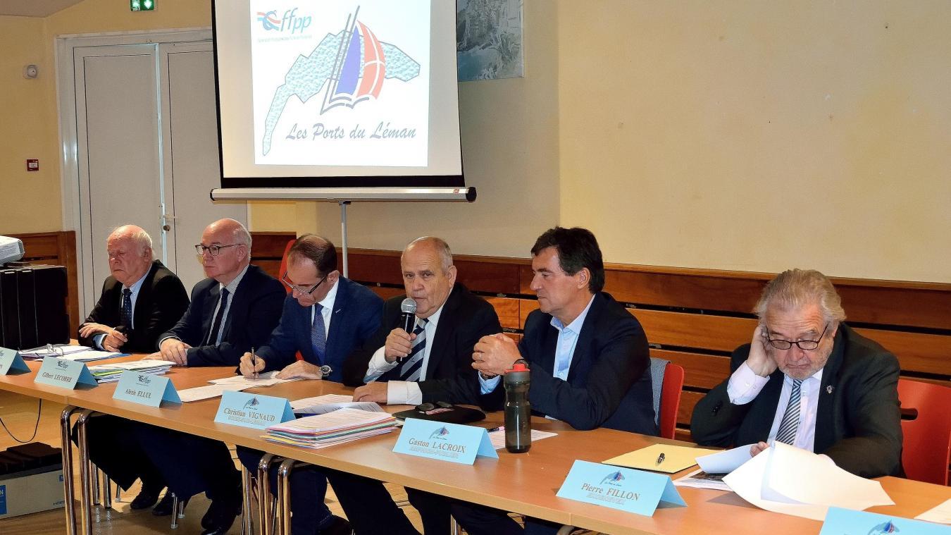 L'assemblée générale des ports du Léman s'est tenue à la salle des Châtaigners, à Publier.
