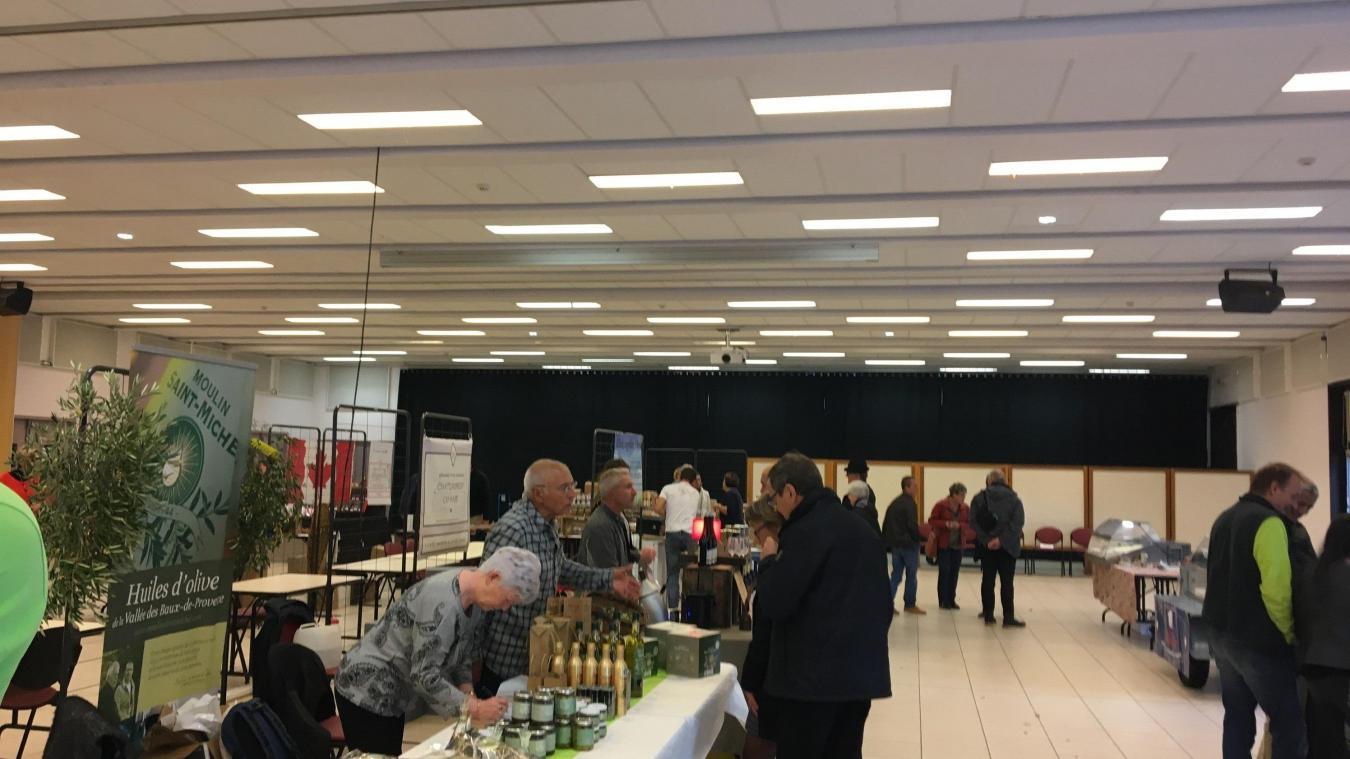 Pendant deux jours, à Thyez, le public a pu venir goûter, tester et acheter les différents produits proposés par les artisans.