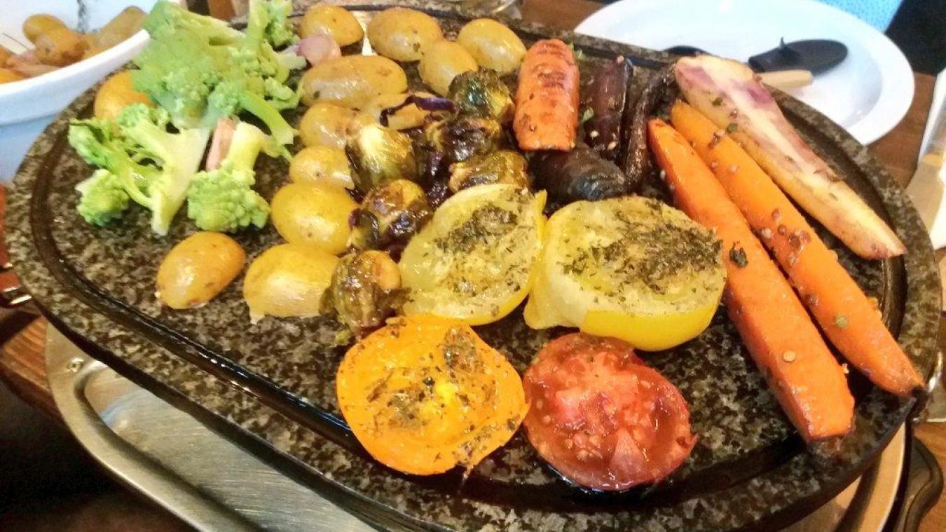 Garnie de légumes, la raclette de Katie a affolé les twittos français, toujours à cheval sur la gastronomie.