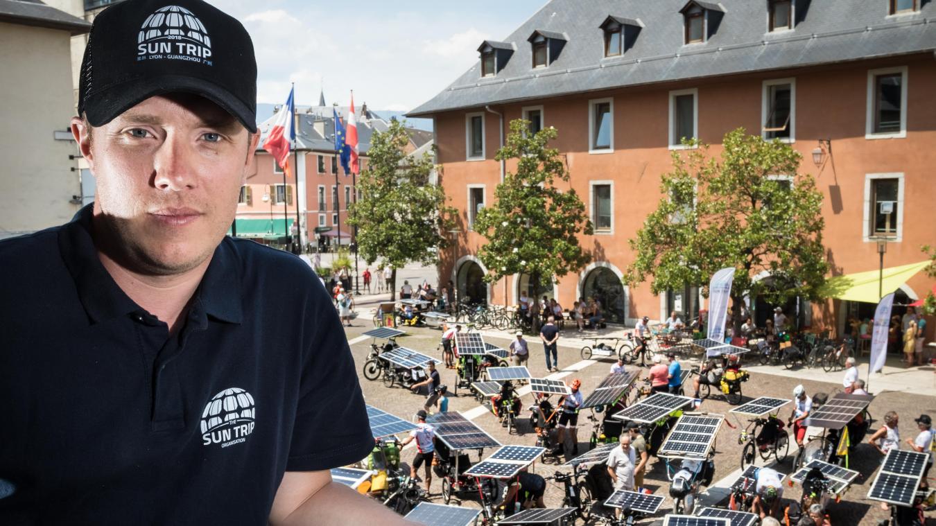 Florian Bailly essaye de créer de nombreux événement pour alimenter la communauté des coureurs à vélo solaire.